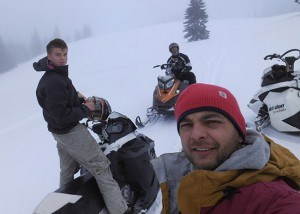 jazda na skuterach snieznych zawoja